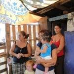 family on the dump in Honduras