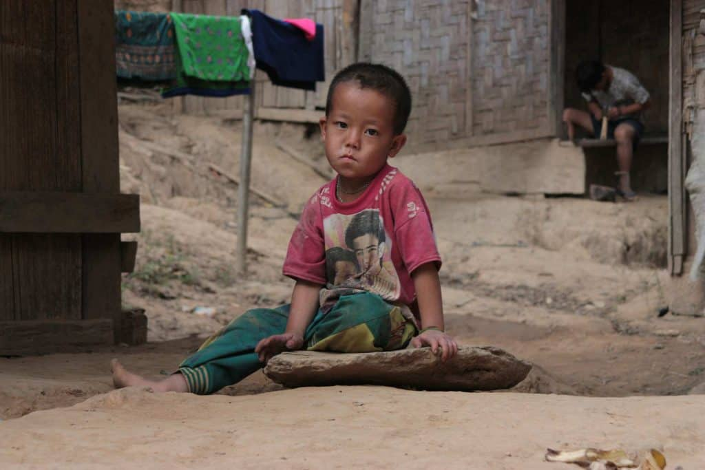 Brick Fundraising - child in poverty