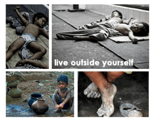 Live Outside yourself children