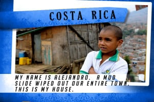 This is my House in Costa Rica Blue | Shelter The World