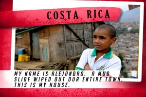 This is my House in Costa Rica Red | Shelter The World