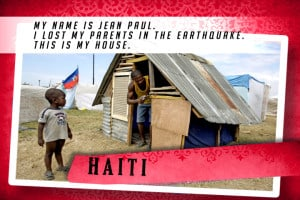 This is my House in Haiti Red | Shelter The World