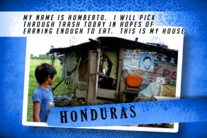 This is my House in Honduras Blue | Shelter The World