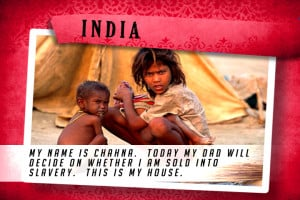 This is my House in India Red | Shelter The World