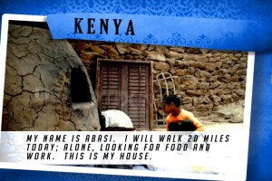 This is my House in Kenya Blue | Shelter The World