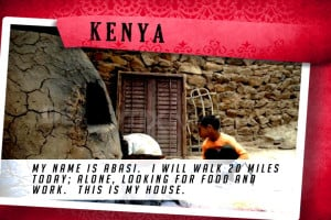 This is my House in Kenya Red | Shelter The World