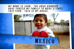 This is my House in Mexico Blue | Shelter The World