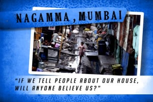 This is my House in Mumbai Blue | Shelter The World