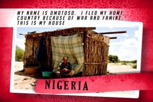 This is my House in Nigeria Red | Abrigar o Mundial