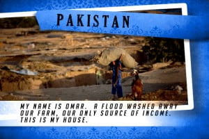 This is my House in Pakistan Blue | Shelter The World