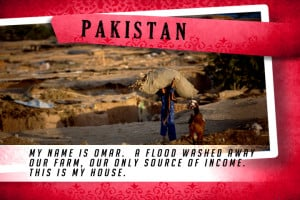 This is my House in Pakistan Red | Shelter The World