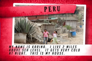 This is my House in Peru Red | Shelter The World