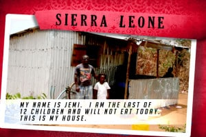 This is my House in Sierra Leone Red | Shelter The World