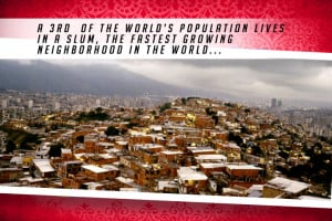 Living in a Slum Red | Shelter The World