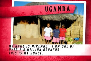 This is my House in Uganda Red | Shelter The World