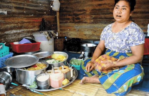 Rebuilding Houses in Myanmar after violence destroyed homes