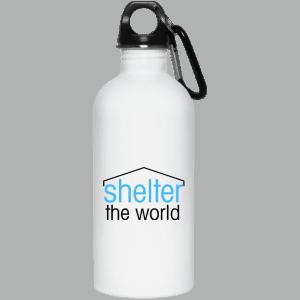 20 أوقية زجاجة الفولاذ المقاوم للصدأ مع رأس المسمار