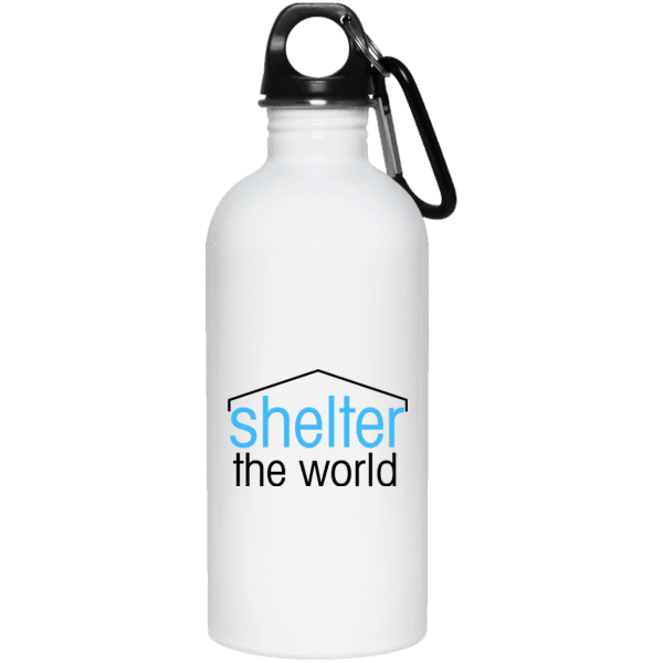 20 oz stainless steel bottle with screw top