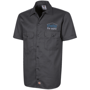 Dickies Mens Short Sleeve Workshirt