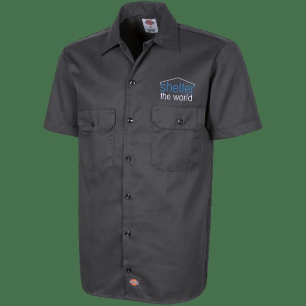 Dickies Mens Short Sleeve Workshirt