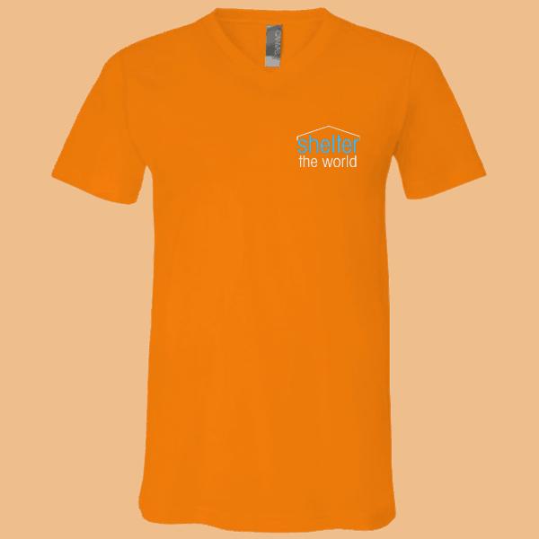 Canvas Unisex Jersey SS V-Neck T-Shirt