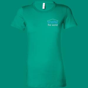 帆布女士最喜欢的T恤