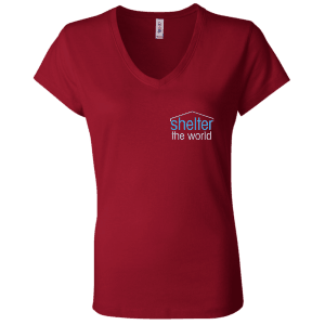 Canvas Ladies' Jersey V-Neck T-Shirt
