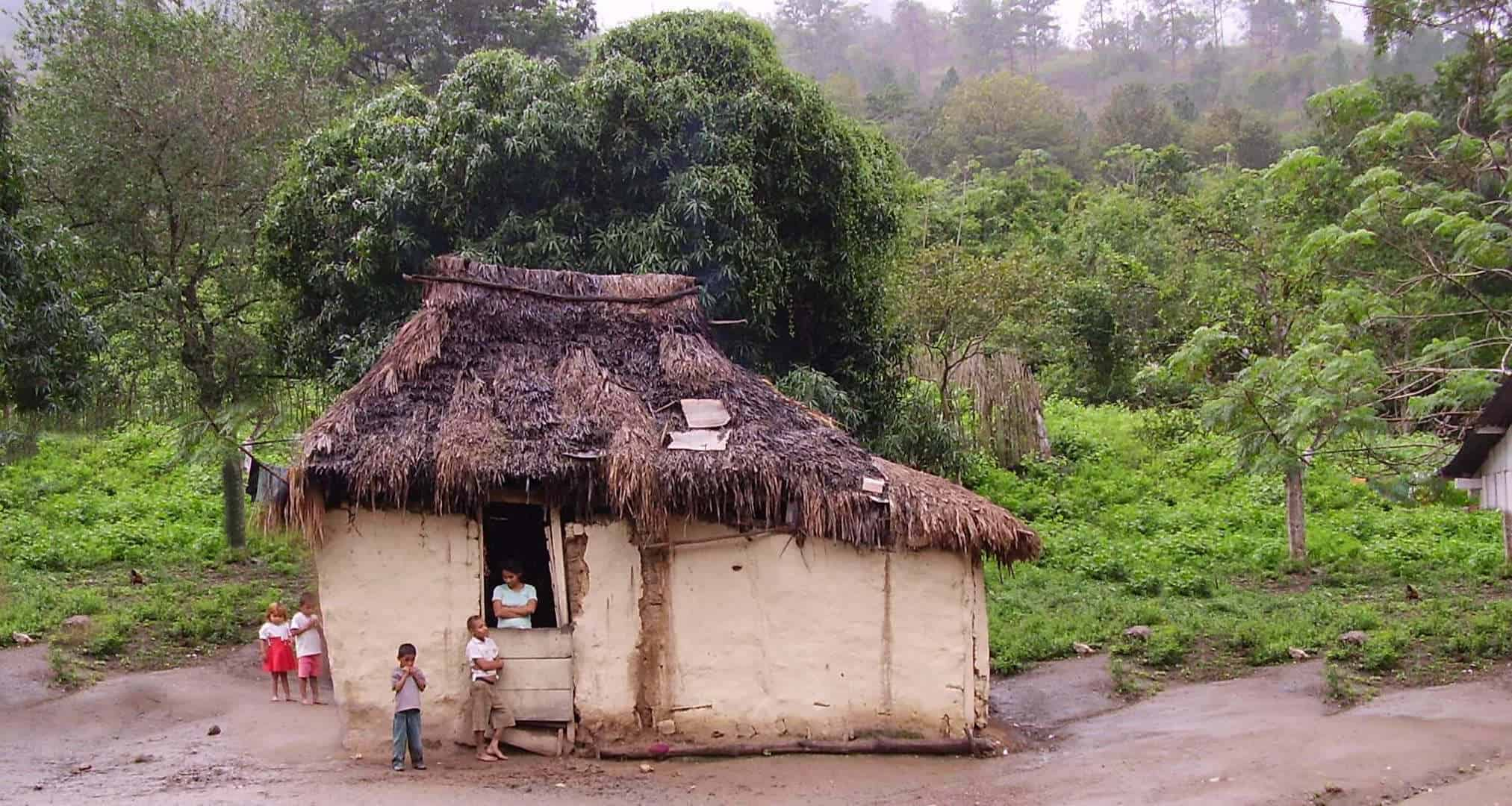 rural poverty house in Honduras